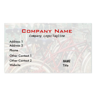 Red Bicycles Business Card