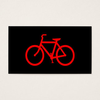 Red Bike Business Card