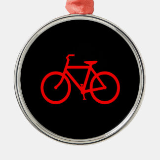 Red Bike Christmas Ornament