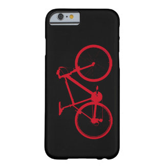 red bike, cycling barely there iPhone 6 case