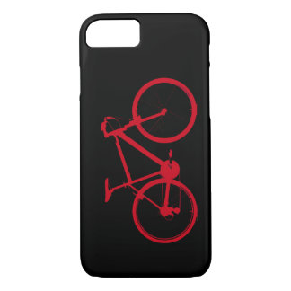 red bike, cycling iPhone 8/7 case