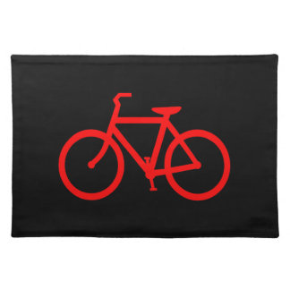 Red Bike Placemat