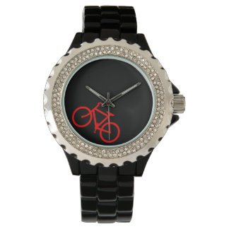 Red Bike Route Watches