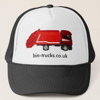 Red Bin-truck Trucker Hat