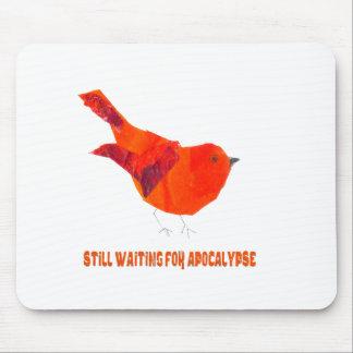 Red Bird Apocalypse Mouse Pad