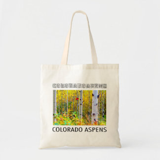 Red Bird House Hanging On A Colorado Aspen Tree Tote Bag