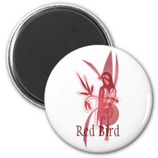 Red Bird Refrigerator Magnet