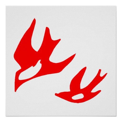 Red Birds Poster