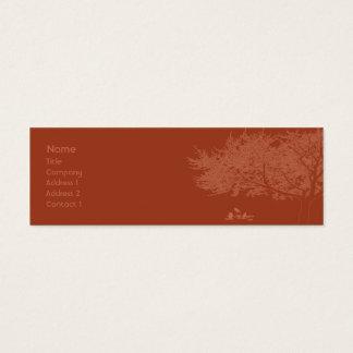 Red Birds - Skinny Mini Business Card