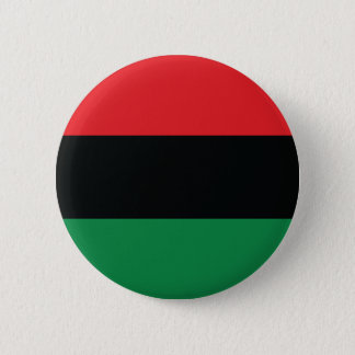 Red, Black and Green Flag 6 Cm Round Badge