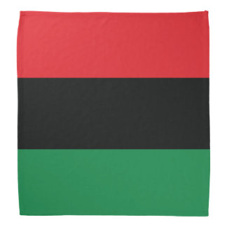 Red, Black and Green Flag Bandana