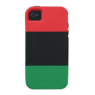 Red Black and Green Flag iPhone 4/4S Cases