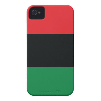 Red Black and Green Flag iPhone 4 Cover