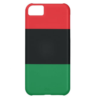 Red Black and Green Flag Cover For iPhone 5C