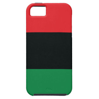 Red Black and Green Flag iPhone 5 Cases