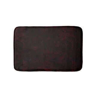 Red/Black Bath Mats