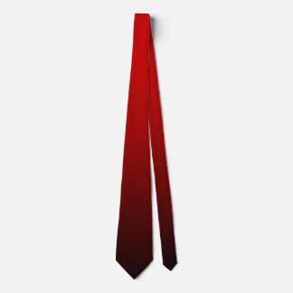 Red Black Double Sided Ombre Tie