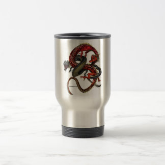 Red & Black Dragons Mug