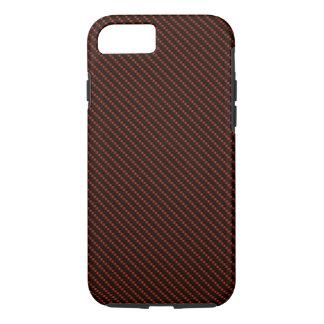 Red & Black Fiber Base iPhone 7 Case