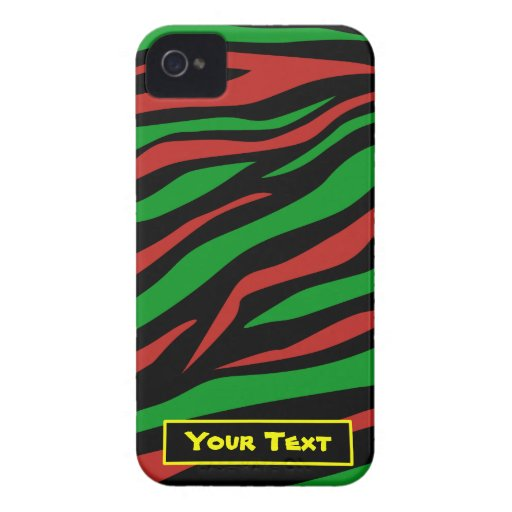 Red Black Green - A Tribe Called Quest Theme Case-Mate iPhone 4 Cases