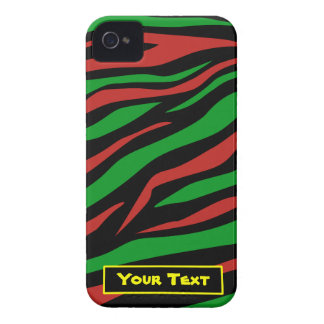Red Black Green - A Tribe Called Quest Theme iPhone 4 Cover
