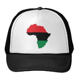 Red, Black & Green Africa Flag Cap