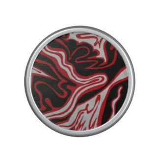 Red & Black Marble Design Speaker
