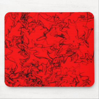 Red & Black Mouse Pad
