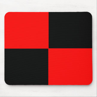 Red/Black Mouse Pad