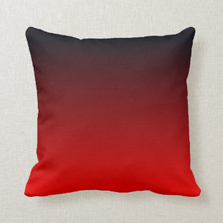 Red Black Ombre Cushion