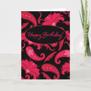 Red Color Modern Happy Birthday Gifts Gift Ideas Zazzle Uk