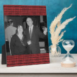 red black pattern photo plaques