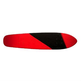 Red Black Retro Skateboard