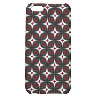 Red & Black Stargazer Art iPhone 4 Speck Case iPhone 5C Covers