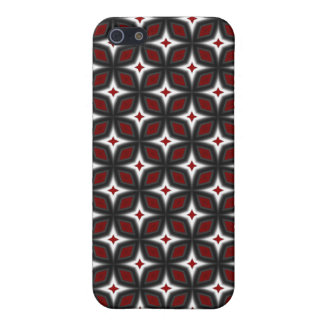 Red & Black Stargazer Art iPhone 4 Speck Case Case For iPhone 5