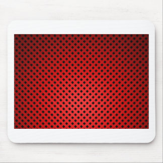 Red Black  Structure Fash Mouse Pad