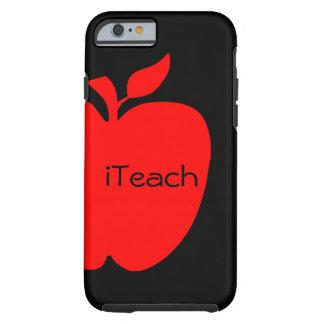 Red & Black Teacher's iPhone 6 case