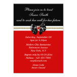 Red black white formal PERSONALIZE