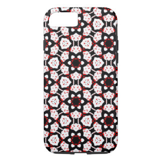 Red Black White Geometric iPhone 8/7 Case
