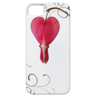 Red Bleeding Heart iPhone 5 Case-Mate Barely There iPhone 5 Case