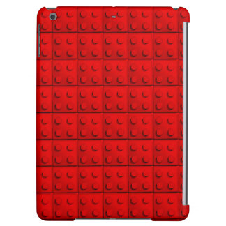Red blocks Pattern iPad Air Case
