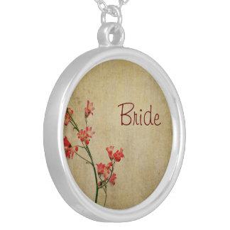 Red Blossom Bride Pendant