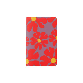 Red Blossoms Decorative Designer Modern Journal