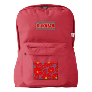 Red Blossoms Designer Modern backpack Buy Online