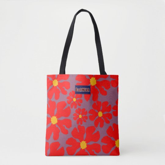 Red Blossoms Modern Designer Bag Buy Online