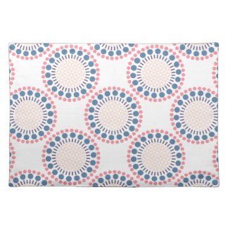 Red & Blue Circles Placemat