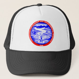Red & Blue JIRP Logo Hat