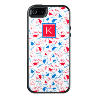 Red & Blue Pattern | Monogram OtterBox iPhone 5/5s/SE Case