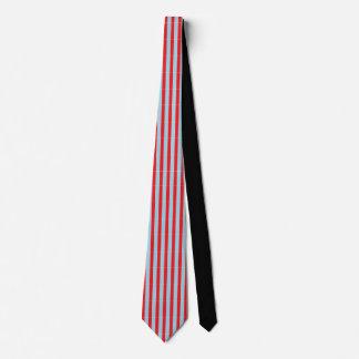 Red/Blue Striped Tie