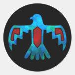 Red & Blue Thunderbird Sticker